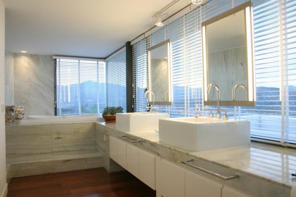 lavabo-à-double-vasque-intérieur-élégant