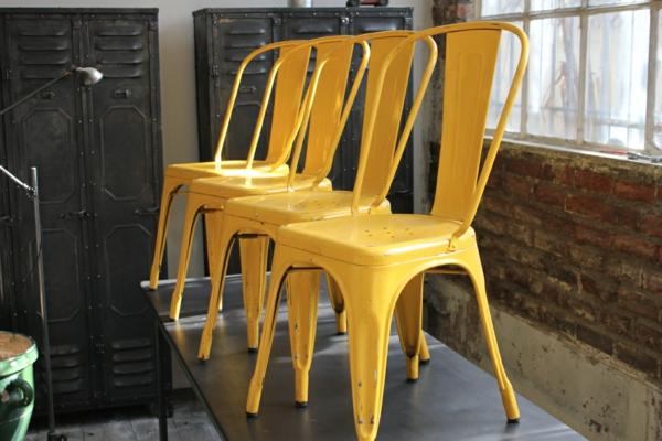 le-chaise-Tolix-jaune