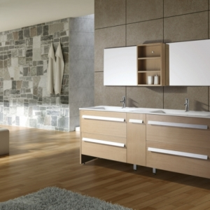 Le lavabo à double vasque pour votre salle de bains