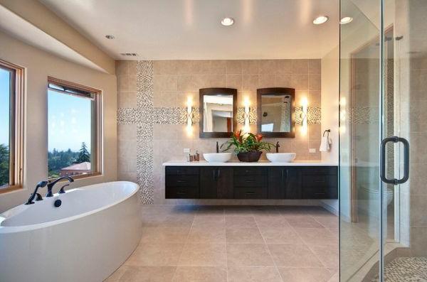 lavabo-à-double-vasque-ambiance-douce-baignoire-blanche
