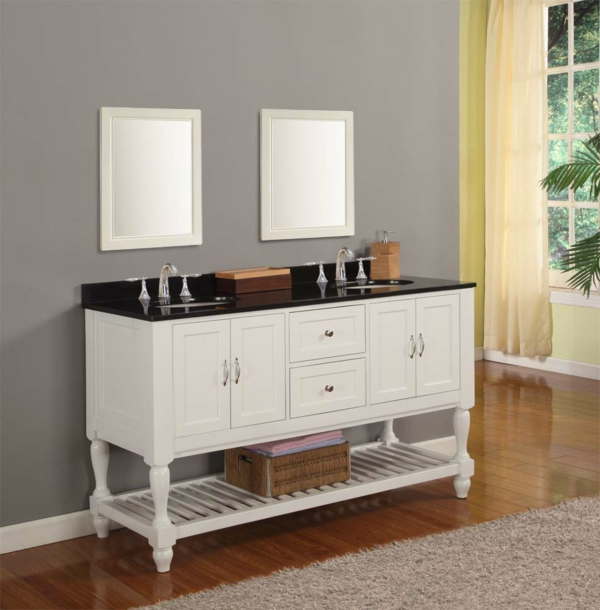 lavabo double vasque. Black Bedroom Furniture Sets. Home Design Ideas