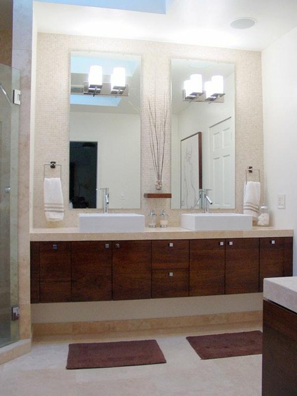 lavabo-à-double-vasque-miroirs-avec-illumination