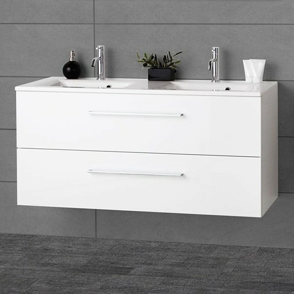 Le lavabo double vasque pour votre salle de bains for Lavabo double cuisine