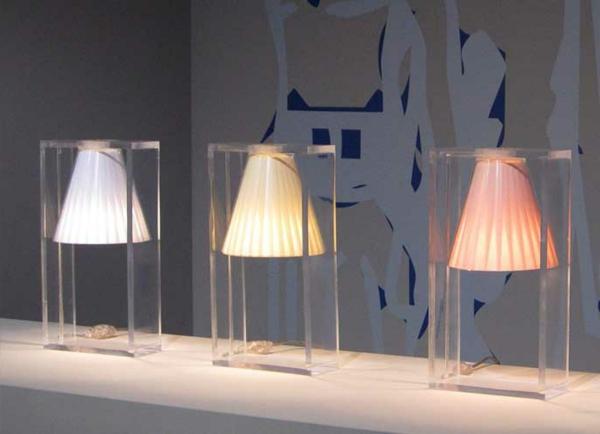 Les lampes kartell une magnificence pratique for Lampes de chevet habitat