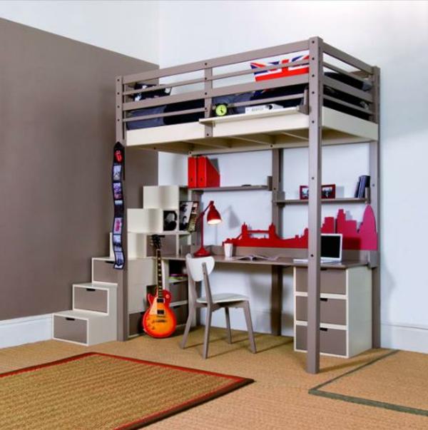 lit-mezzanine-avec-bureau-pour-un-garçon