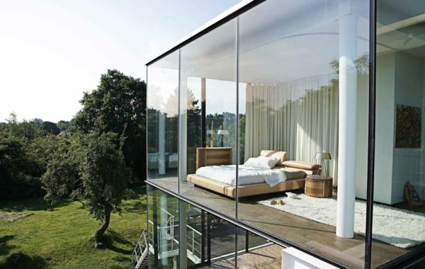 Cette chambre coucher japonaise est miraculeuse avec son for Architecture japonaise moderne