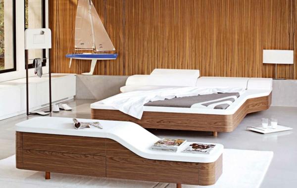 lit-roche-bobois-intérieur-moderne-et-une-table-commode