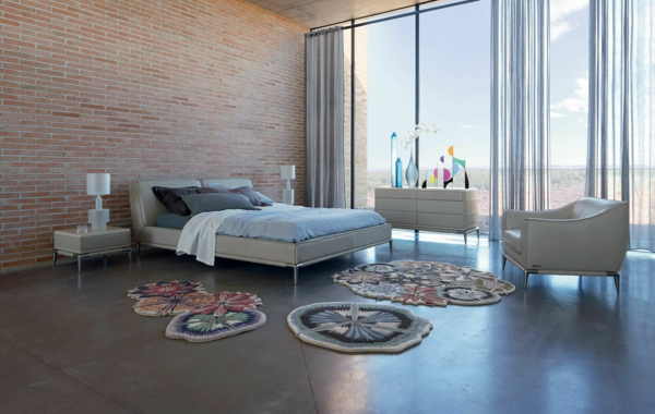 Chambre Contemporaine Roche Bobois : Le lit roche bobois est un meuble joli et original