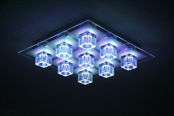 lustre-led-avec-neuf-corps-luminants