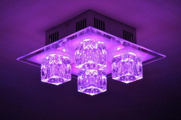 lustre-led-lilas