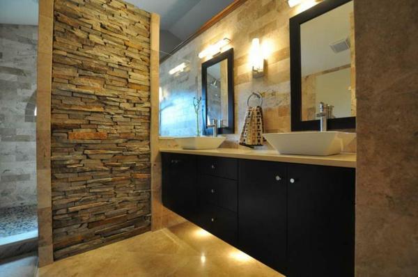 carrelage mural salle de bain design. Black Bedroom Furniture Sets. Home Design Ideas