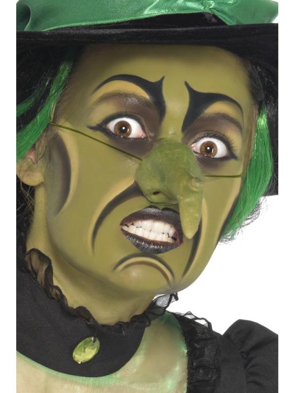 maquillage-de-sorciere-de-halloween-vert