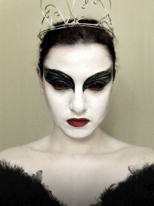 maquillage-halloween-robe