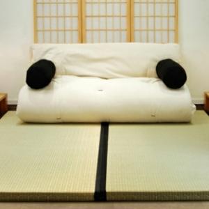 Le matelas futon - le design simple et beau du confort