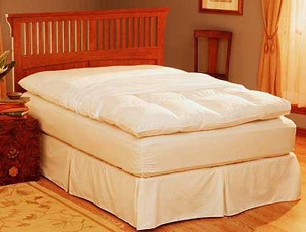 matelas-futon-sur-un-lit