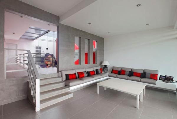 matelas-futon-un-salon-moderne
