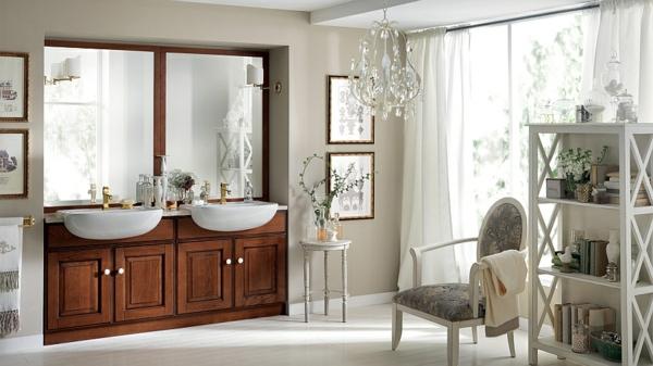 meuble-de-salle-de-bains-en-teck-une-double-vasque