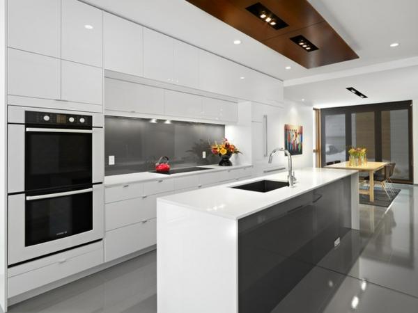 le meuble pour four encastrable dans la cuisine moderne
