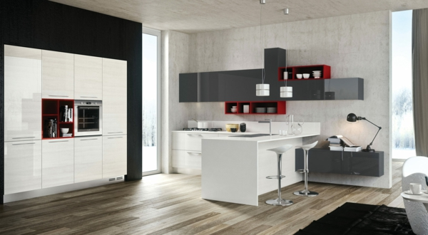 le meuble pour four encastrable dans la cuisine moderne. Black Bedroom Furniture Sets. Home Design Ideas