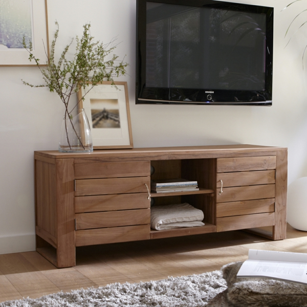 meuble-tv-en-bois-simple