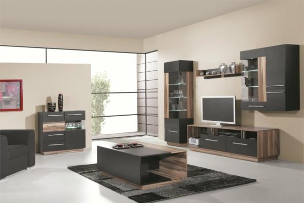 Mod les de meuble tv en bois for Ameublement salon