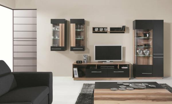 Meuble tv bois et blanc pas cher for Meuble tv design pas cher