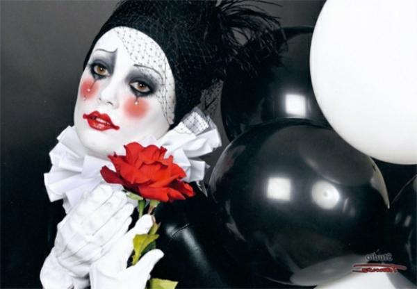 mime-coloriage-de-halloween-pour-le-visage
