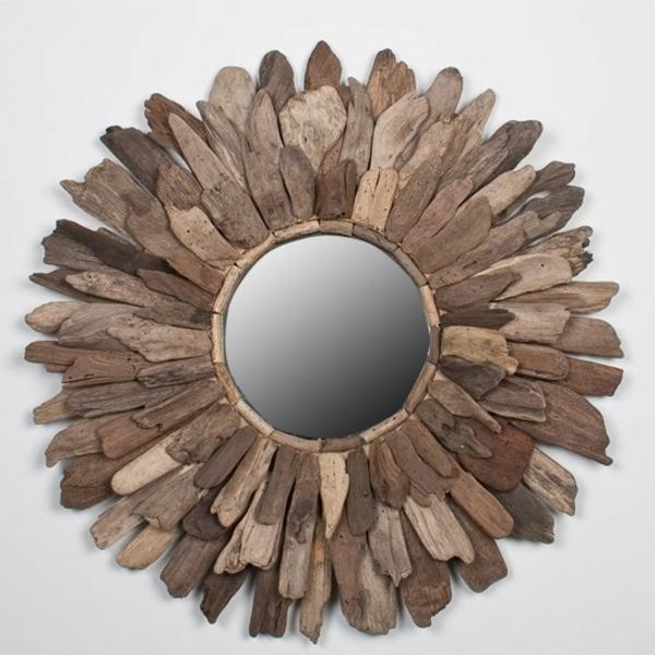 miroir-à-bois-flotté-miroir-rond-symétrique