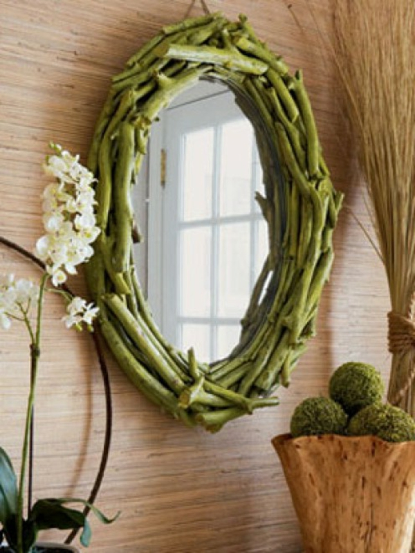 Voyez le monde dans le miroir bois flott for Hendrik andriessen miroir de peine