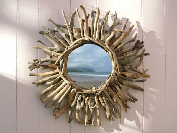 miroir-à-bois-flotté-miroir-rond-joli