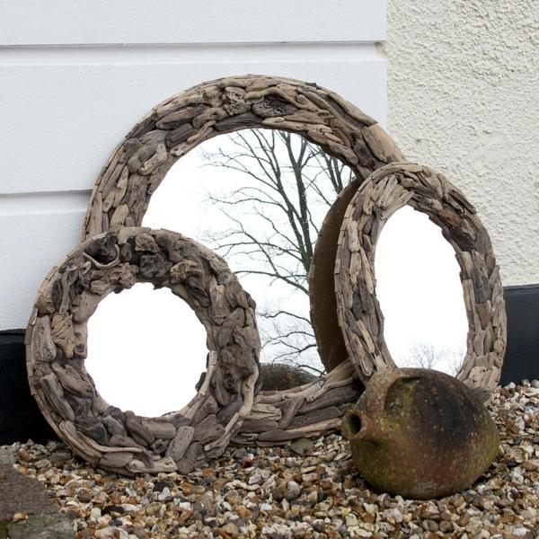 miroir-à-bois-flotté-trois-miroirs-jolis-ronds