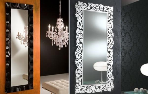 miroirs-décoratifs-et-un-beau-plafonnier