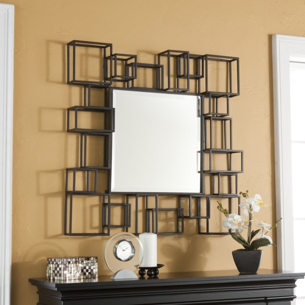 les miroirs d coratifs sont une jolie d cision pour la. Black Bedroom Furniture Sets. Home Design Ideas