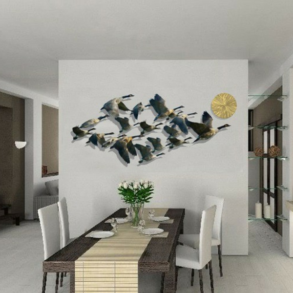 D coration murale salle a manger - Decoration murale salon moderne ...