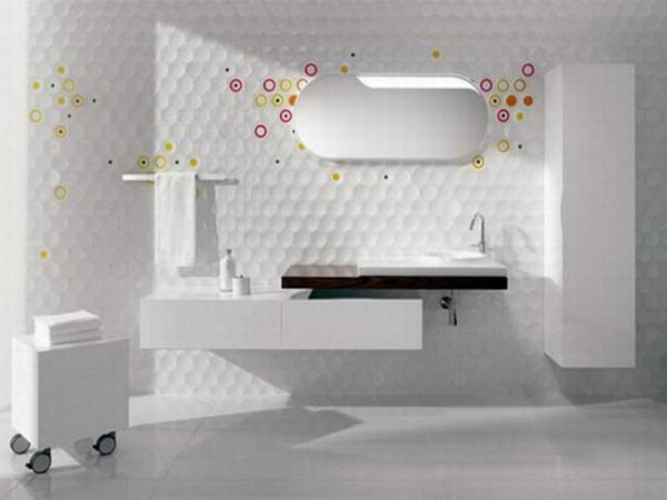 Salle de bain carrelage multicolore salle de bain 1000 for Carrelage mural multicolore