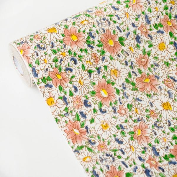 papier-peint-adhésif-fleurs