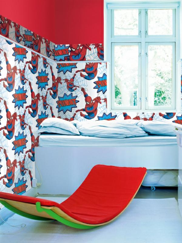 Papier peint adhesif id es de d coration et de mobilier for Papier peint adhesif mural