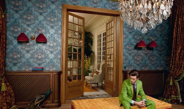 papier-peint-baroqie-intérieur-vintage-incroyable