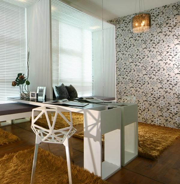 papier-peint-baroque-salle-à-manger