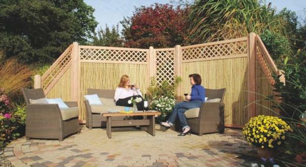 le paravent bambou partout. Black Bedroom Furniture Sets. Home Design Ideas