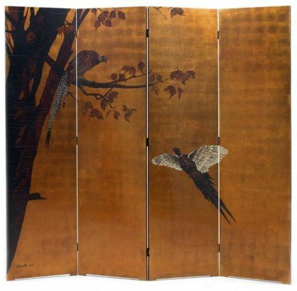paravent-japonais-oiseau