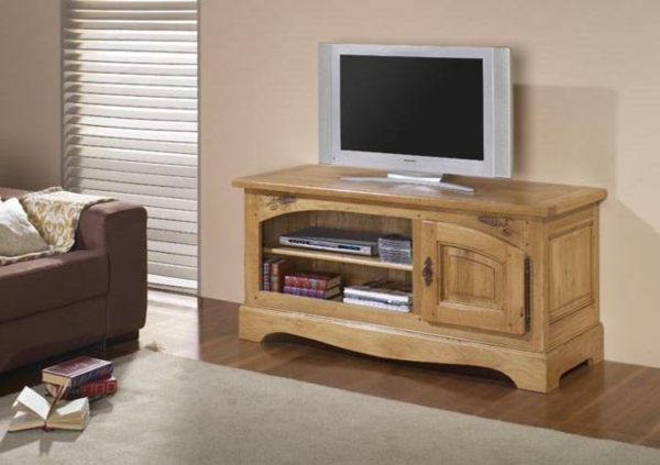 Mod les de meuble tv en bois - Meuble tv en bois pas cher ...