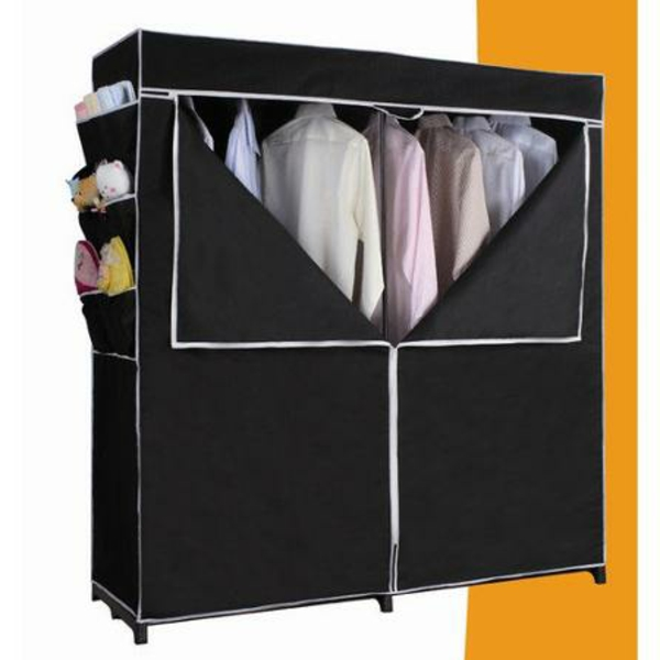 armoire tissu design with penderie tissu fly. Black Bedroom Furniture Sets. Home Design Ideas