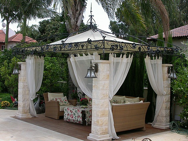 rideau exterieur pour terrasse id es de. Black Bedroom Furniture Sets. Home Design Ideas