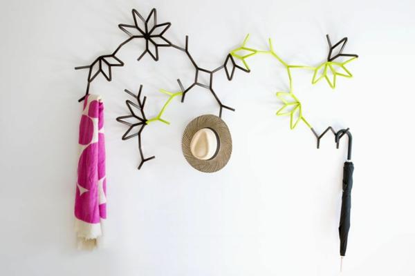 choisissez un porte manteau mural originel. Black Bedroom Furniture Sets. Home Design Ideas