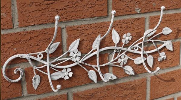 porte-manteau-mural-motifs-floraux