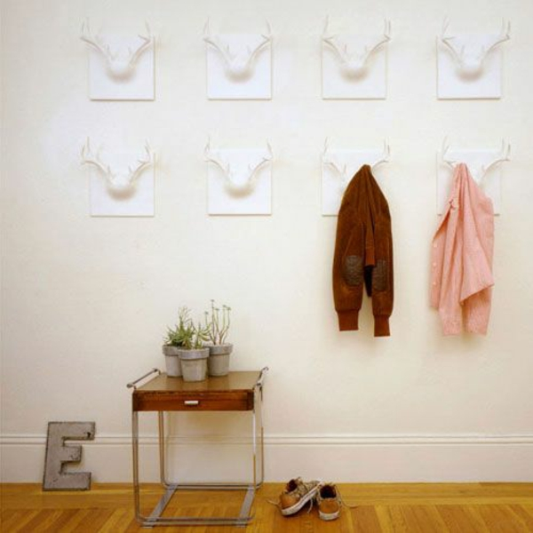 porte-manteau-mural-patères-blancs-originaux