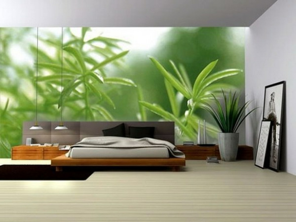 poster-mural-trompe-l' oeil-chambre-à-coucher