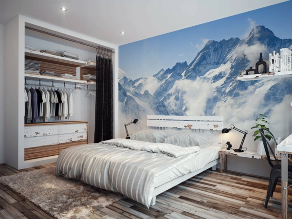 le poster mural trompe l 39 oeil. Black Bedroom Furniture Sets. Home Design Ideas