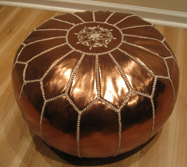 pouf-marocain-couleur-bronze